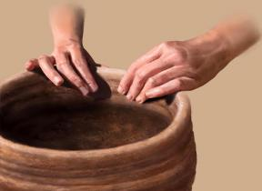 Tools  Food  The Smithsonian Institutions Human Origins Program Illustration Of Human Hands Making Pottery For Storage Purposes Compare And Contrast High School And College Essay also Pay To Write Book Reports  Reflective Essay Thesis
