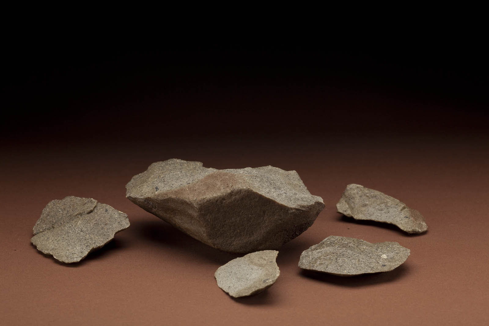 tools food the smithsonian institution s human origins program core and flakes from lokalalei