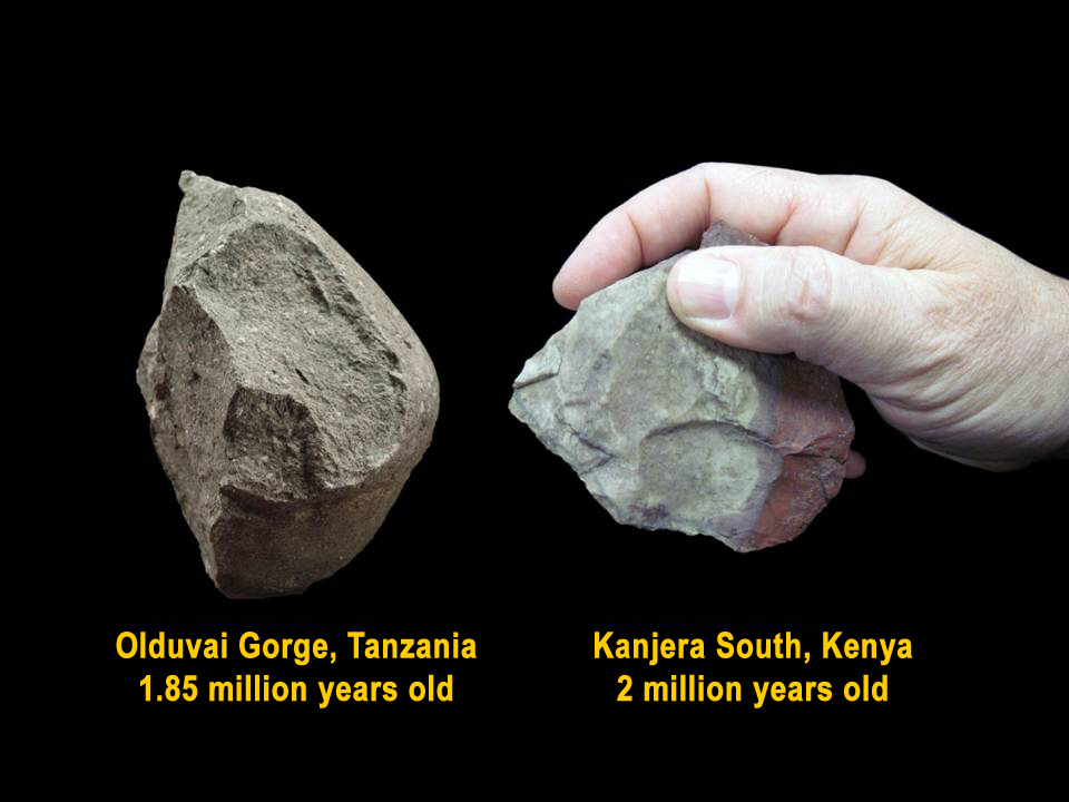 Two stones tools