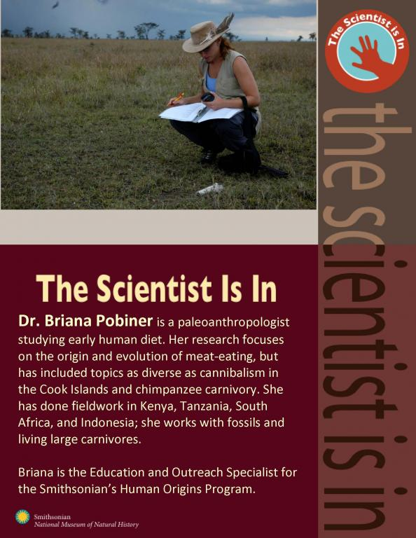 flier for scientist is in